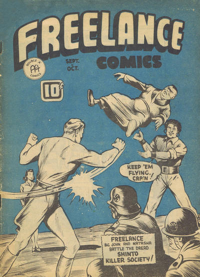 Cover for Freelance Comics (Anglo-American Publishing Company Limited, 1941 series) #v2#4