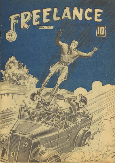 Cover for Freelance Comics (Anglo-American Publishing Company Limited, 1941 series) #v2#11