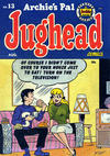 Cover for Archie's Pal Jughead (Archie, 1949 series) #13