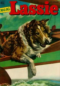 Cover Thumbnail for M-G-M's Lassie (Dell, 1950 series) #9