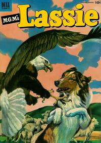 Cover Thumbnail for M-G-M's Lassie (Dell, 1950 series) #10