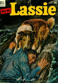Cover Thumbnail for M-G-M's Lassie (Dell, 1950 series) #13