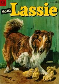 Cover Thumbnail for M-G-M's Lassie (Dell, 1950 series) #16