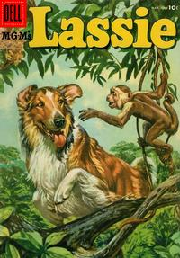 Cover for M-G-M's Lassie (Dell, 1950 series) #28