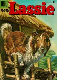 Cover Thumbnail for M-G-M's Lassie (Dell, 1950 series) #29
