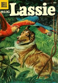 Cover Thumbnail for M-G-M's Lassie (Dell, 1950 series) #32