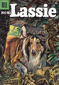 Cover Thumbnail for M-G-M's Lassie (Dell, 1950 series) #35