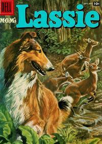 Cover for M-G-M's Lassie (Dell, 1950 series) #36