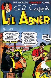 Cover Thumbnail for Al Capp's Li'l Abner (Toby, 1949 series) #71