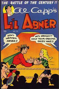 Cover Thumbnail for Al Capp's Li'l Abner (Toby, 1949 series) #72