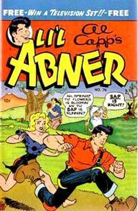 Cover Thumbnail for Al Capp's Li'l Abner (Toby, 1949 series) #76