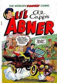 Cover Thumbnail for Al Capp's Li'l Abner (Toby, 1949 series) #77