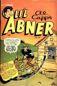 Cover Thumbnail for Al Capp's Li'l Abner (Toby, 1949 series) #78