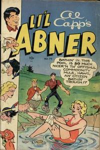 Cover Thumbnail for Al Capp's Li'l Abner (Toby, 1949 series) #79