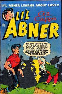 Cover Thumbnail for Al Capp's Li'l Abner (Toby, 1949 series) #82