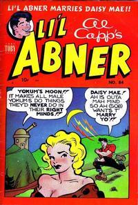 Cover Thumbnail for Al Capp's Li'l Abner (Toby, 1949 series) #84
