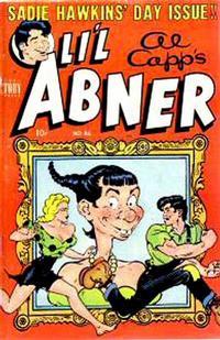 Cover Thumbnail for Al Capp's Li'l Abner (Toby, 1949 series) #86