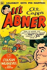 Cover Thumbnail for Al Capp's Li'l Abner (Toby, 1949 series) #88