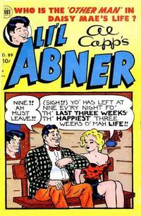 Cover Thumbnail for Al Capp's Li'l Abner (Toby, 1949 series) #89