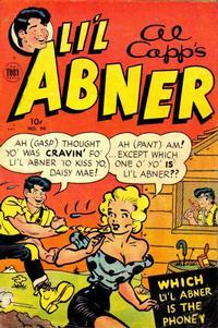 Cover Thumbnail for Al Capp's Li'l Abner (Toby, 1949 series) #90