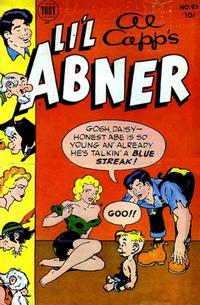 Cover for Al Capp's Li'l Abner (Toby, 1949 series) #93