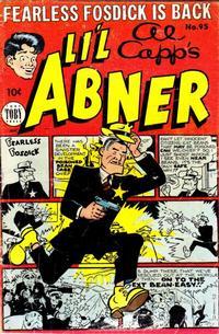 Cover Thumbnail for Al Capp's Li'l Abner (Toby, 1949 series) #95