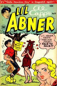Cover Thumbnail for Al Capp's Li'l Abner (Toby, 1949 series) #97