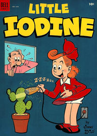 Cover Thumbnail for Little Iodine (Dell, 1950 series) #21
