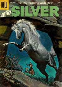 Cover Thumbnail for The Lone Ranger's Famous Horse Hi-Yo Silver (Dell, 1952 series) #18