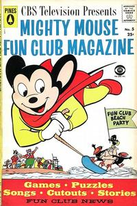 Cover Thumbnail for Mighty Mouse Fun Club Magazine (Pines, 1957 series) #5