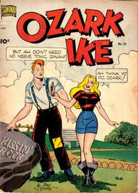 Cover Thumbnail for Ozark Ike (Pines, 1948 series) #21