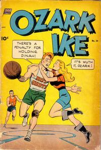 Cover Thumbnail for Ozark Ike (Pines, 1948 series) #24