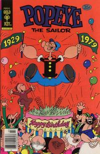 Cover Thumbnail for Popeye the Sailor (Western, 1978 series) #144 [Gold Key]