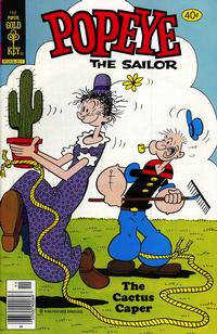Cover Thumbnail for Popeye the Sailor (Western, 1978 series) #152 [Gold Key]