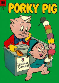 Cover Thumbnail for Porky Pig (Dell, 1952 series) #35