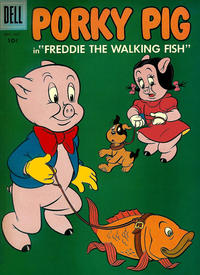 Cover Thumbnail for Porky Pig (Dell, 1952 series) #54