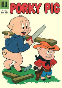 Cover Thumbnail for Porky Pig (Dell, 1952 series) #72