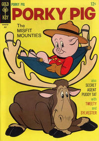 Cover Thumbnail for Porky Pig (Western, 1965 series) #13