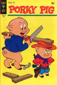 Cover Thumbnail for Porky Pig (Western, 1965 series) #35