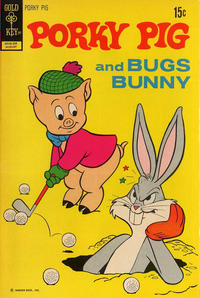 Cover Thumbnail for Porky Pig (Western, 1965 series) #43 [Gold Key]