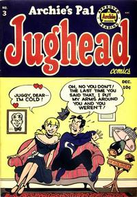 Cover Thumbnail for Archie's Pal Jughead (Archie, 1949 series) #3