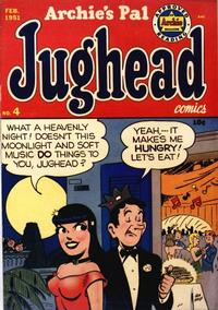 Cover Thumbnail for Archie's Pal Jughead (Archie, 1949 series) #4