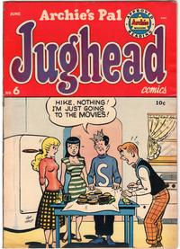 Cover Thumbnail for Archie's Pal Jughead (Archie, 1949 series) #6