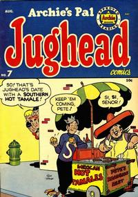 Cover Thumbnail for Archie's Pal Jughead (Archie, 1949 series) #7