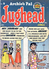 Cover Thumbnail for Archie's Pal Jughead (Archie, 1949 series) #9