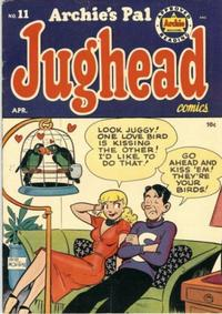Cover Thumbnail for Archie's Pal Jughead (Archie, 1949 series) #11