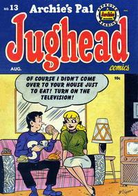 Cover Thumbnail for Archie's Pal Jughead (Archie, 1949 series) #13