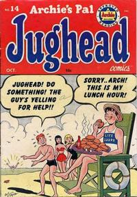 Cover for Archie's Pal Jughead (Archie, 1949 series) #14