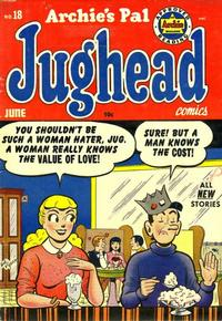 Cover Thumbnail for Archie's Pal Jughead (Archie, 1949 series) #18