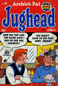 Cover Thumbnail for Archie's Pal Jughead (Archie, 1949 series) #20